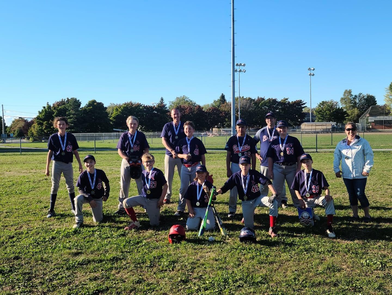 Temiscouata Braves Champions tournoi pee wee B